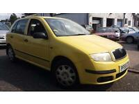 2006 55 SKODA FABIA 1.2 HTP CLASSIC 5 DOOR,ONLY 48000 MILES WITH F/S/H.2 OWNERS.
