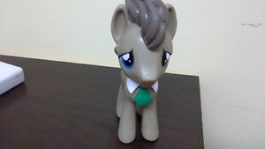 "My Little Pony Dr. Whooves 6"" vinyl figure with green tie"