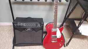 Guitar/ amp package!  Gretsch Jet + Peavey Vypyr Amp!