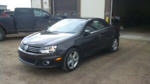 2014 Volkswagen Eos black oak brown Convertible