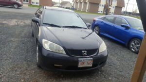 Honda Civic 2004 Willing to Trade for Van