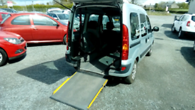 08 Renault Kangoo 5 Dr Wheelchair Ramp fitted Only 47000 Mls Clean car
