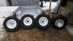 boite pickup  et pneus