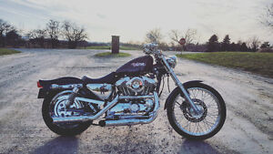 2000 Sportster 1200C trade for pick up truck