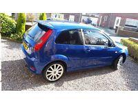ford fiesta ST150 full mot, full tints, bluetooth parrot kit usb stereo sunning car, bonnet bra ect.