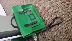 """Limited edition green. 13"""" classic satchel"""