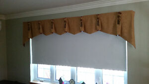 Roll down Blind and Valance for 8ft Window.