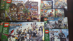 8 Lego castle sets