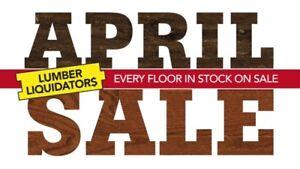 Massive Spring Flooring Vente | AVRIL VENTE 2K18