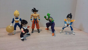 Dragon ball z figures + VHS Lord Slug