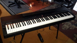 Yamaha P155 88-Key Contemporary Digital Piano with Stand
