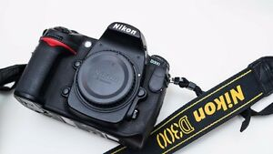 Nikon D300 camera with 3 lenses, flash and more