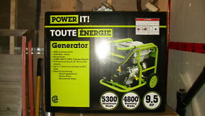 New 5000 Watt Portable Generator