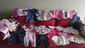 Clothing 6-12 Months ( 35 pieces ) + 2 Shoes