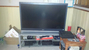 """55"""" Sony HD LCD TV - Needs new projection bulb"""