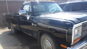 89 Dodge D 250 Cummins