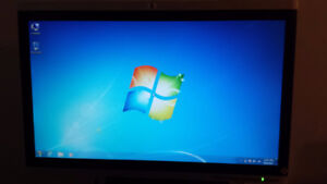 """22"""" HP  Wide Screen LCD Computer Monitor for Sale"""