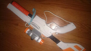 Wii console,  with wii fit, 3 controllers,  7 games, gun, hoc Kitchener / Waterloo Kitchener Area image 3