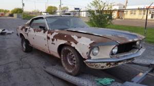 1969 Mustang Fastback Mach1 & 1969 Mustang Fastback! 2 Projects!
