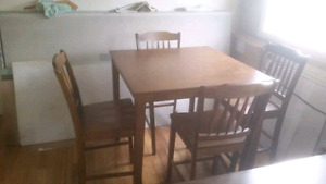 Pub style table and chairs REDUCED!!