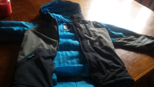 Boys winter coat size 7/8 with liner