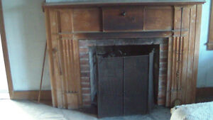 Tearing Down 1700's Farmhouse: Wood Fireplace Mantel Available London Ontario image 5