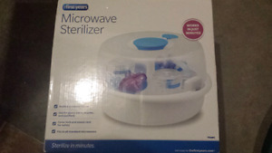 (NEW) First Years microwave sterilizer