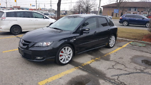 2007 MAZDA 3 SPEED TURBO !! SAFETY AND ETEST!!!