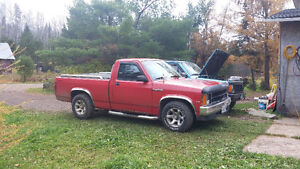 1987 Dodge Dakota Pickup Truck