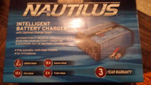 Intelligent battery charger