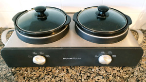 Homestyles double slow cooker (brand new)