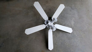 5 blade fan with 3 lights