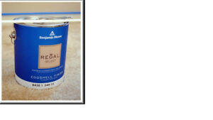 BENJAMIN MOORE EGGSHELL PAINT (REGAL SELECT) 1 GALLON