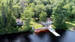 Cottage Rental on Trout Lake in Annapolis County Nova Scotia