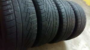 WINTER TIRES  245/45/17