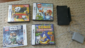Assorted DS / 3DS games and charger