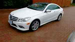 Mercedes E350 Coupe AMG Kit