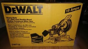 "DeWalt Heavy Duty 12"" Double-Bevel Sliding Compound Miter Saw"