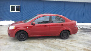 2008 Chevrolet Aveo LS Berline (Rouge)