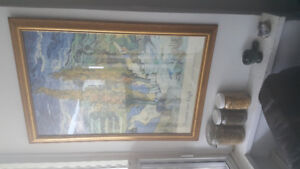 Painting with Frame Vincent Van Gogh