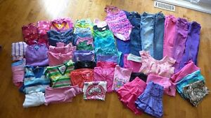Girls clothing size 7/8 ~50 items for $40