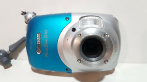 Canon Powershot D10 Waterproof 12 Megapixel  3X Zoom