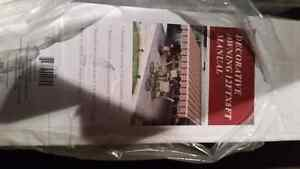 12 by 8 feet manual awning. Brand new in box