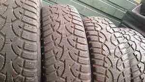 4 pneus d'hiver Général 185 65 14 huyndai accent