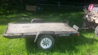 Tilting Utility/ATV/Side x side/Snowmobile trailer 63 x 94