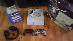 Special edition white 500gb ps4 lot