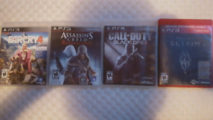 PS3 Games $5 Each Excellent condition
