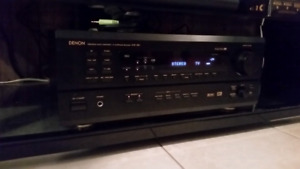 DENON AVR 1802 5.1 SURROUND SOUND HOME THEATER SYSTEM SPEAKERS