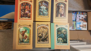 6 Lemony Snickets A Series of Unfortunate Events Kids Books