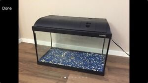 2 fish tanks 20 gallons + 10 gallons